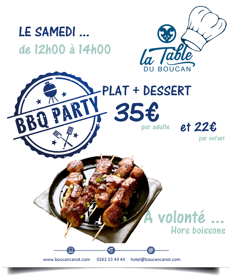 BBQ Boucan Canot