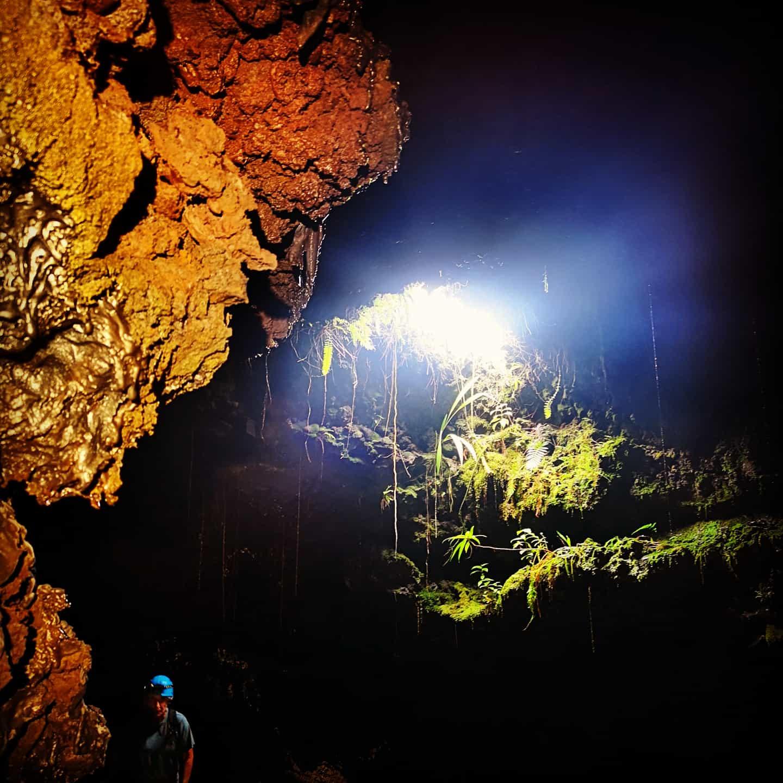Activités de tunnels de lave