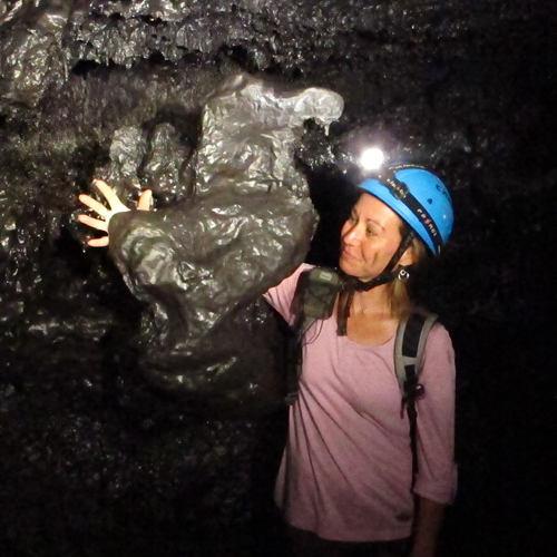 Tunnels de lave, pierre en forme de Dodo